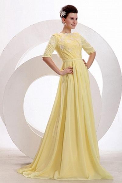 A-Line Chiffon Classic Homecoming Dresses wr2595 - http://www.weddingrobe.co.uk/a-line-chiffon-classic-homecoming-dresses-wr2595.html - NECKLINE: Strapless. FABRIC: Chiffon. SLEEVE: Sleeveless. COLOR: Yellow. SILHOUETTE: A-Line. - 150.59