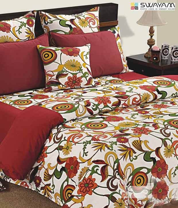 #Snapdealbestproducts http://www.snapdeal.com/product/swayam-red-green-floral-print/161534?pos=8;1254