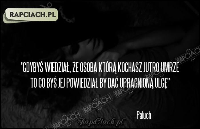 Paluch - Słaby punkt