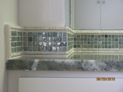 Bathroom Mirror Backsplash Bing Images Ideas