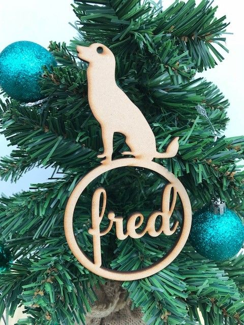 Wooden And Acrylic Lasercut Christmas Baubles And Ornaments