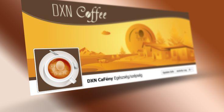 DXN CaFény Facebook cover