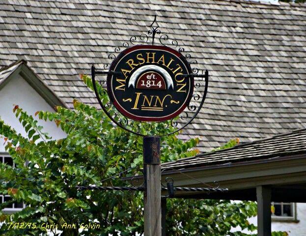 The historical Marshalton Inn.