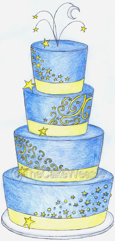 22 Best Images About Cake Sketches On Pinterest Sugar