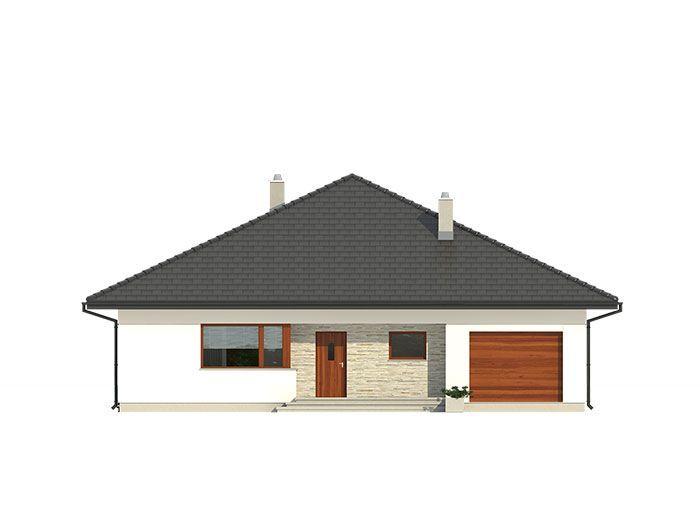 W domu tym przewidziano miejsce na schody prowadzące na strych, który można dowolnie zagospodarować (nieujęty do powierzchni użytkowej).