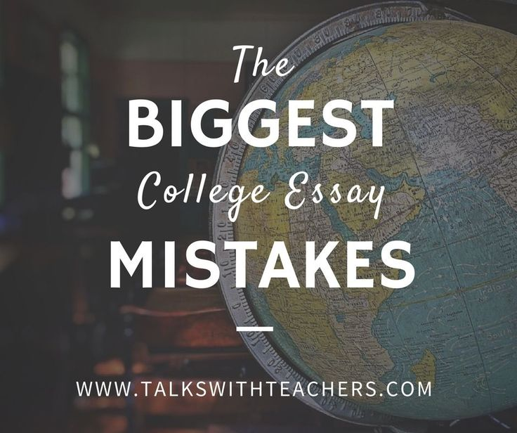 I have read hundreds of college essays over the years. Avoid the biggest mistakes and using the right college essay tips can make or break your application.