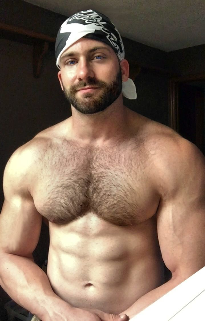 muscle hairy blog