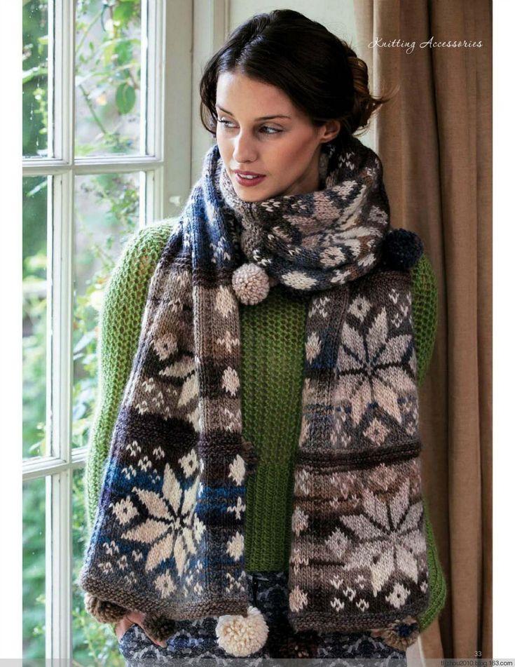111 best Fair Isle Knitting images on Pinterest | Knitting, Brown ...