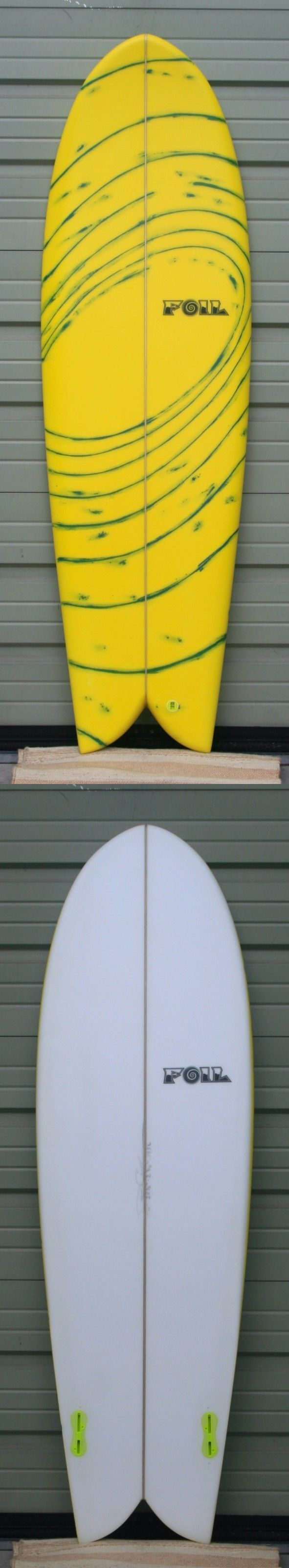 Surfboards 22710: New 5 10 Foil Retro Fish Surfboard -> BUY IT NOW ONLY: $425 on eBay!