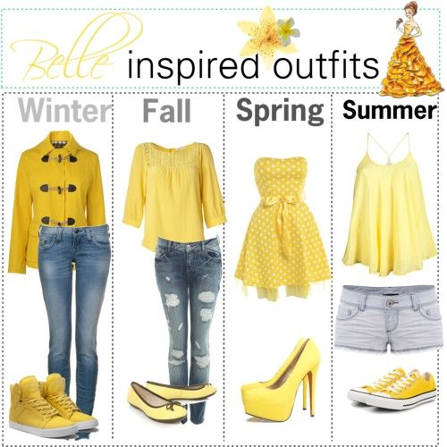 belle inspired...for the crazy range of SoCal weathers