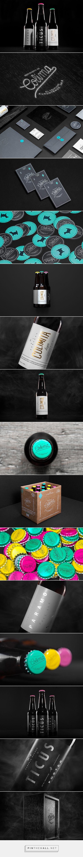 Cervecería de Colima beer packaging designed by Anagrama.