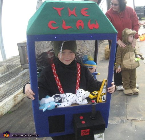 Claw Machine Costume Claw Machine Homemade Halloween