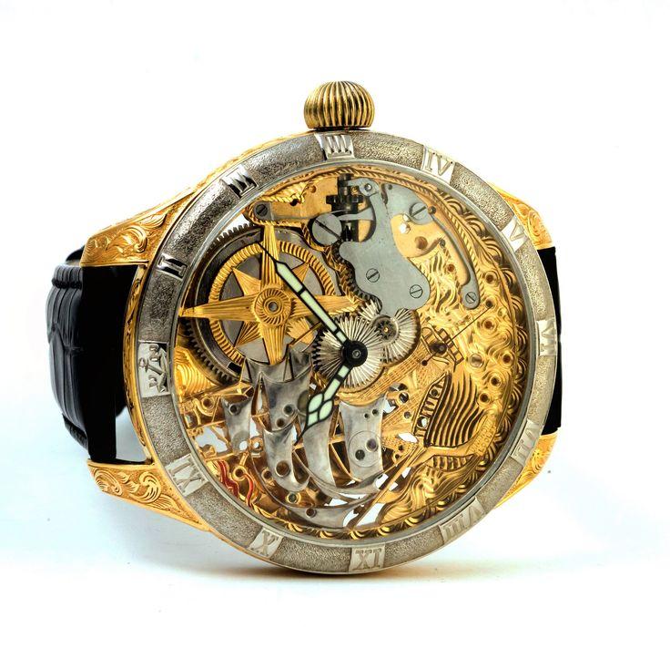 Ulysse Nardin wrist watch.  #ulyssenardin