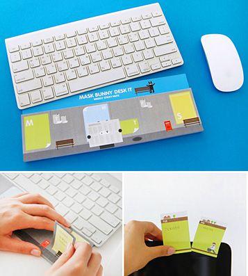 Блок для записей 'Desk Note Sticky' - Mask Bunny