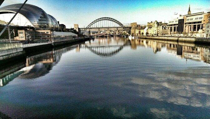 Tyne Bridge from Millenium Bridge