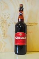 Chimay Premiere 75 cl    Birra trappista rifermentata in bottiglia prodotta nell'Abbazia belga di Scourmont.La Chimay rouge è di colore ambrato scuro, la schiuma è abbondante e persistente