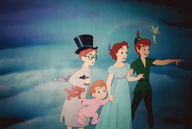 Peter Pan #disneyland #peterpan