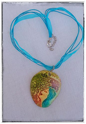 Polymer clay jewelries | by akoucrafts
