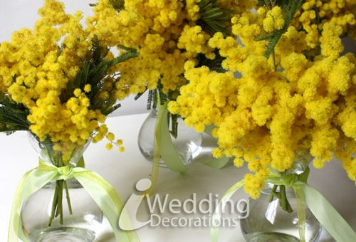 DIY Floral Wedding Decoration