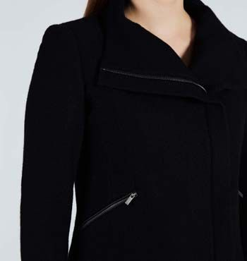MARCS | Jackets & Coats - LILY WOOL-BLEND LONG SLEEVE JACKET