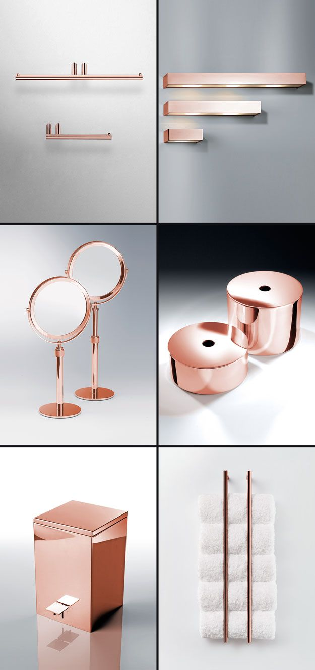 Copper Bathroom Accessories Ideas Oncopper