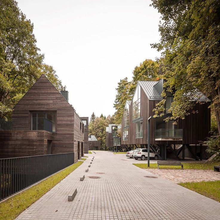 Mies van der Rohe Award shortlist 2017: Rasu Houses, Vilnius, Lithuania, by Paleko Arch Studija and PLAZMA Architecture Studio