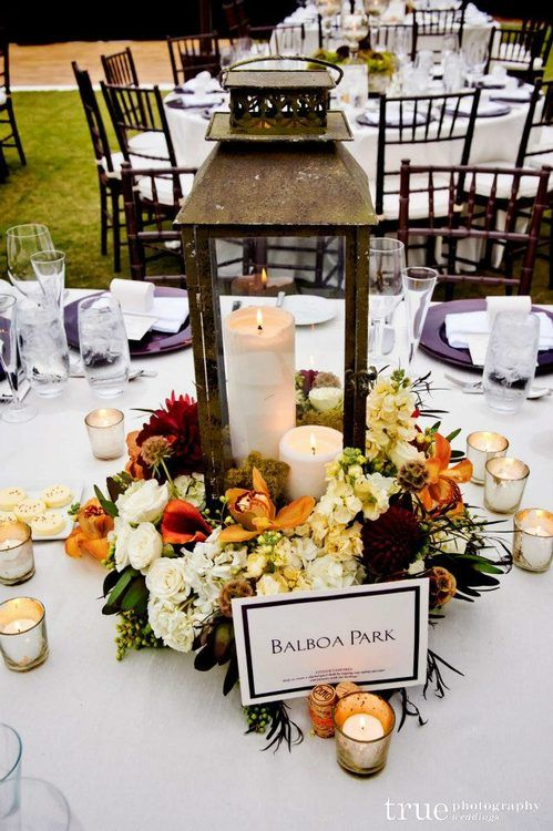 Great ideas about fall lantern centerpieces on pinterest