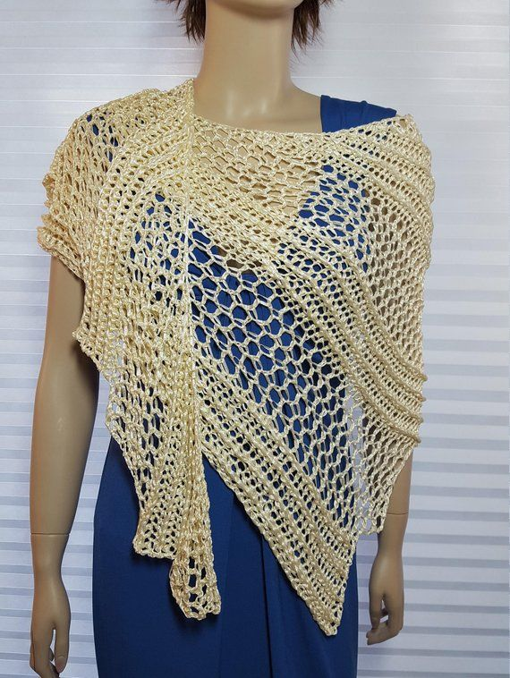 e6accc060b12 This lovely crochet shawl, ruana, wrap, or scarf will be made to order