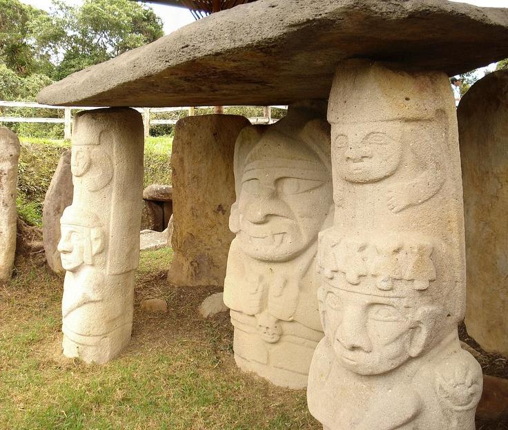 San Agustin Archeological Park, Colombia, South America