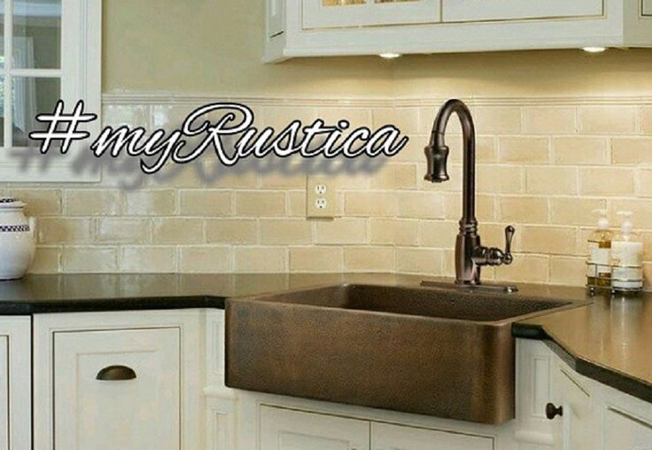 Wall mount and counter rustic kitchen faucets under Rustica House brand are made from bronze metal and equipped with quality valves. They have positive reviews from our clients. #rusticahouse