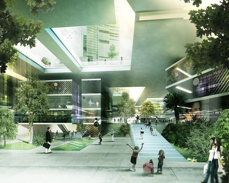 Atasehir Masterplan, Istanbul, 2011 - Nemesi