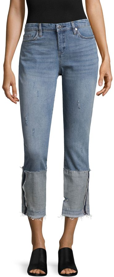 Blank NYC Women's Cropped Jeans