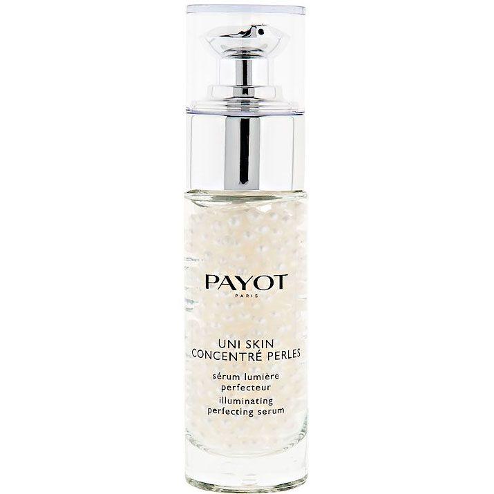 UNI SKIN es la mayor innovación de los laboratorios Payot: Unifica y corrige de manera eficaz todas las imperfecciones de la piel, desde la textura irregular hasta las manchas, pasando por la piel apagada, marcas y las rojeces.