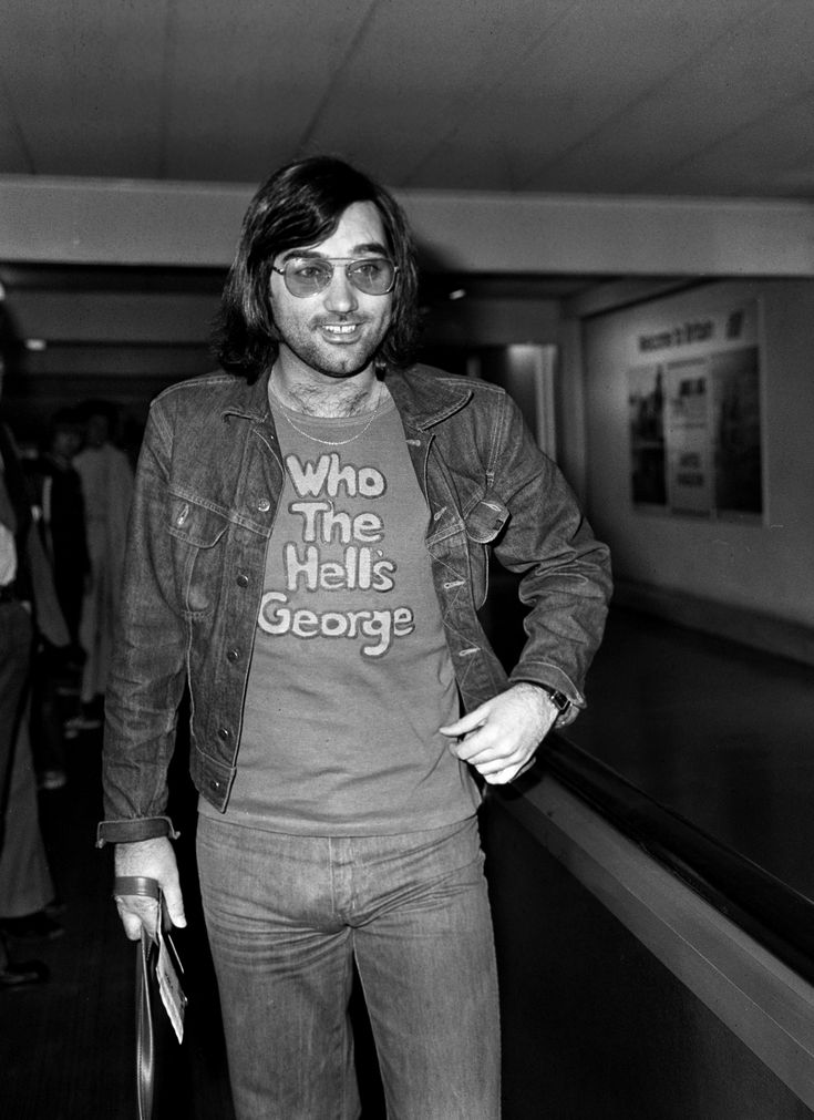 pa-3502784 - George Best leaves Heathrow Airport for Los Angeles to join the…