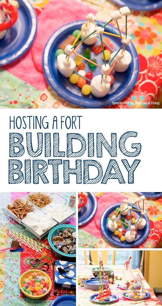 One of a Kind Kid's Party: Fort Building Birthday!  *love tip #4