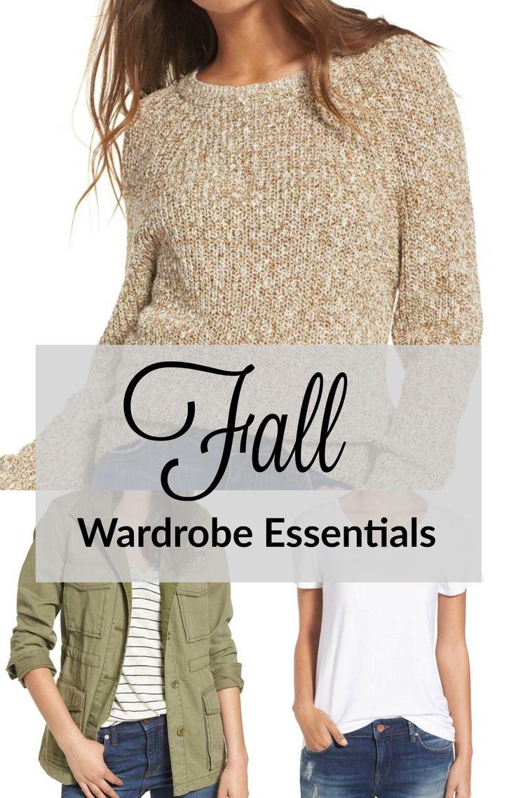 Basic Fall Wardrobe Essentials