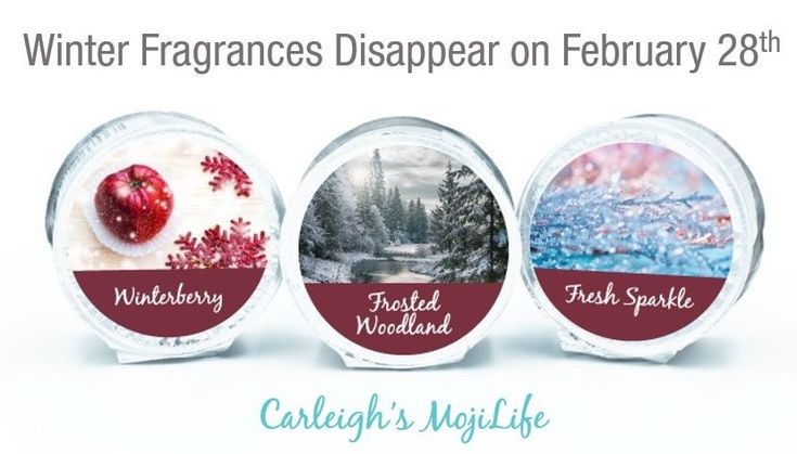 Winter fragrances will disappear at the end of February!