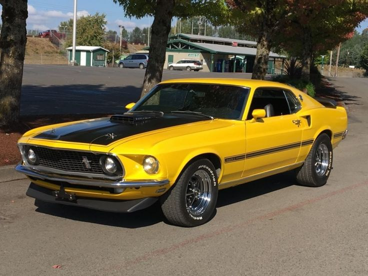Ford Mustang Mach one r-code 428 - 1969
