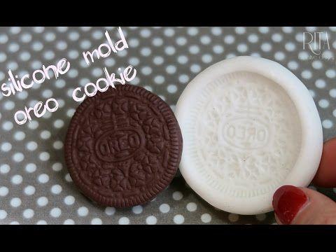 JAK ZROBIĆ SILIKONOWĄ FOREMKĘ OREO | silicone mold oreo cookie | καλούπι απο σιλικόνη - YouTube