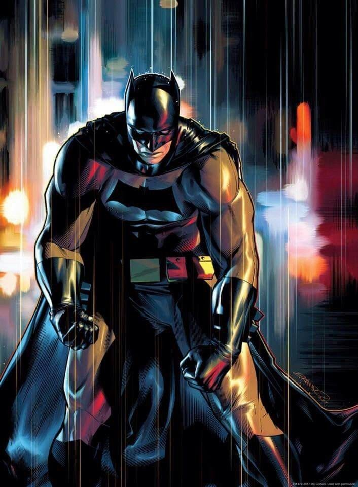 Batman art by unknown person