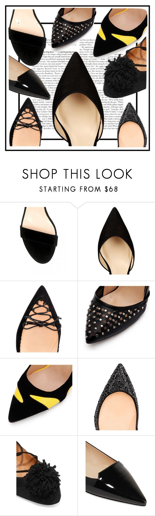 """Untitled #91"" by madedinorog ❤ liked on Polyvore featuring Dee Keller, Paul Andrew, Christian Louboutin, Aquazzura and Jimmy Choo"