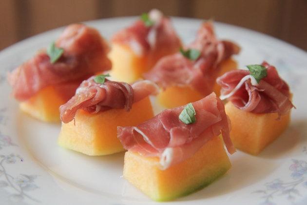 parma ham melon starter recipe