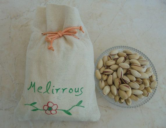 Pistachios Aeginis fresh nuts organic natural  by MelirrousBees