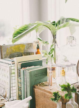 Тренды 2016 года: зеленые листья, пальмы и тропики, книги - The-wedding.ru