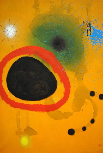Joan Miró. See The Virtual Artist gallery: www.theartistobjective.com/gallery/index.html