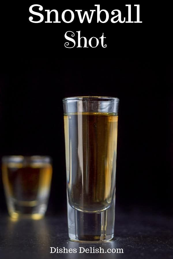 This Snowball Shot Is A Fun And Tasty Treat And Loved By Brandy