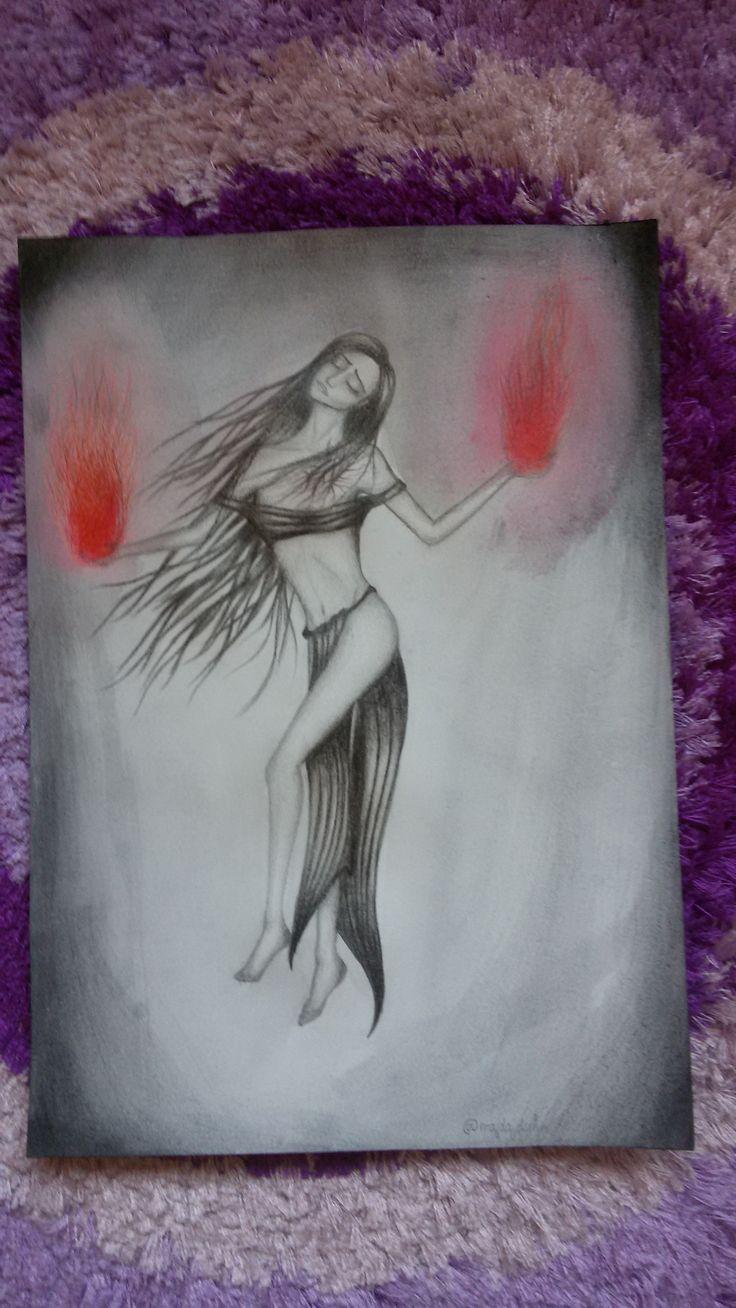 witch colour pencils A4
