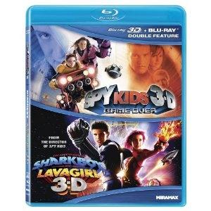Spy Kids 3-D: Game Over / Adventures of Sharkboy [Blu-ray] (Miramax / Lionsgate)