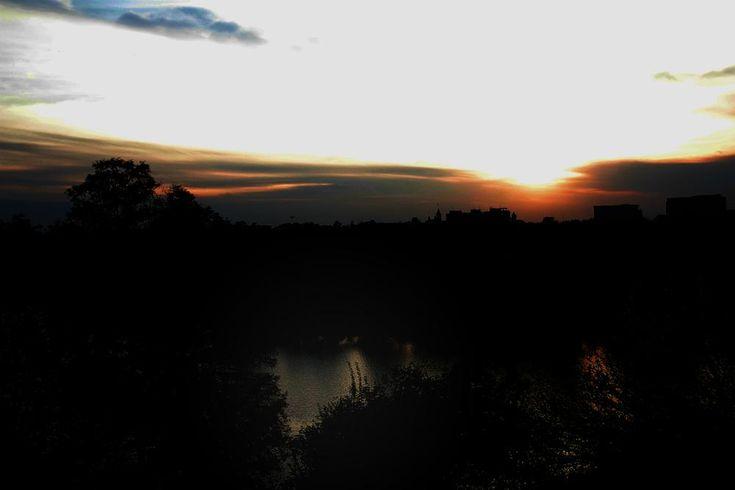 park sunset by mircea.fotograf.az