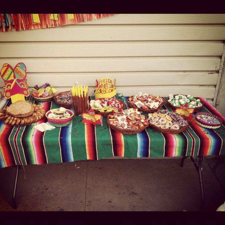 Fiesta mexican candy bar party ideas pinterest - Ideas decoracion bar ...